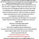 153rd Anniversary Fundraiser